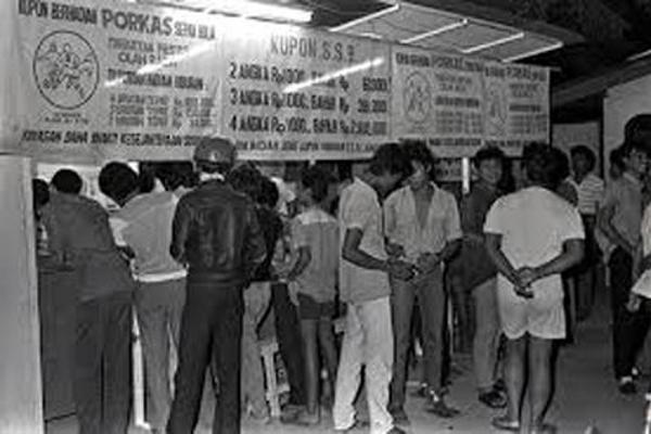 Sejarah Judi Togel Di Indonesia Yang Pernah Dilegalkan