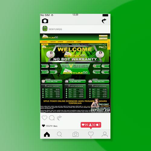 Senyumqq Situs Agen Pkvgames Resmi QQ Poker Online Resmi Domino 99